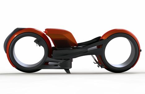 Miguel Cotto's Tron Bike