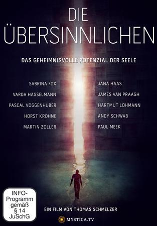 'Die Uebersinnlichen' - DVD Cover und Film Plakat