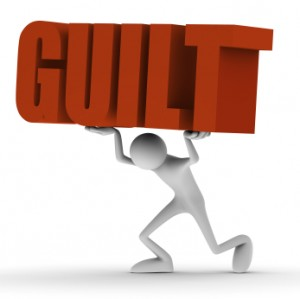 Man carries guilt