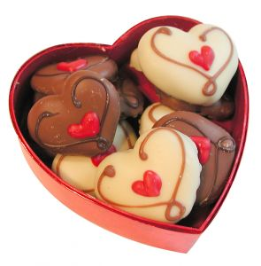 Heart Box Chocolate