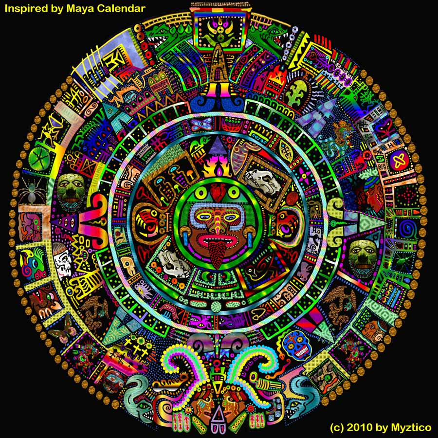 Myztico Campo: Mayan Calendar