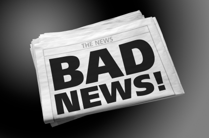 Newspaper: Bad News !